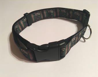 Slytherin House Harry Potter Dog Collar