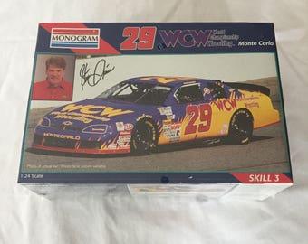WCW World Championship Wrestling Steve Grissom #29 NASCAR Monogram Model Kit, Still Sealed