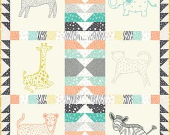 "SALE!! Savannah Cozy Quilt Kit by Gingiber for Moda- Finished Size 42"" x 50"""