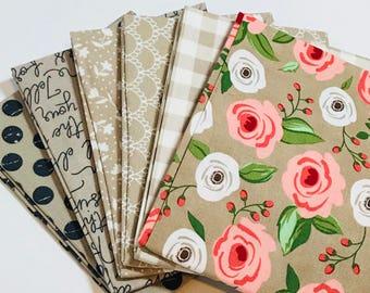 Bundle Farmers Daughter by By Vanessa Goertzen of Lella Boutique for Moda- 6 Fabrics