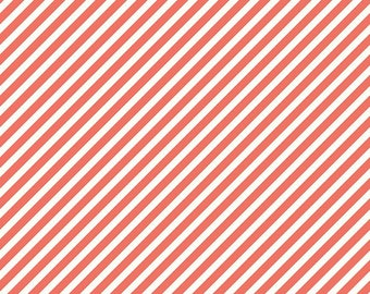 SALE!! 1 Yard On Trend By Jenn Allyson for My Minds Eye for Riley Blake Designs- C5756 Coral