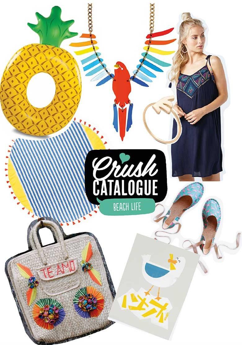 Mollie Makes Crush Catalogue – Beach Life