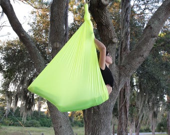 Aerial Sling - 10ft -  Neon Yellow