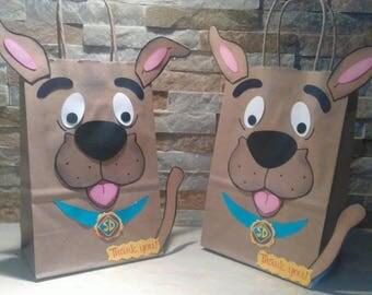 Scooby Doo Goody Bags set of 12