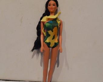 Vintage Barbie Tropical Miko 2056 Mattel 1985