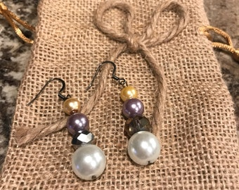 Beaded Dangled earrings