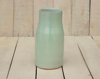Ceramic vase, ceramic vase, vase Mint of ceramics, ceramics and pottery, handmade, gift opening home, decoration