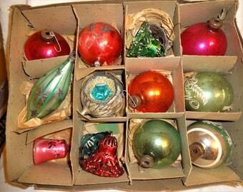 Christmas Ornaments Vintage