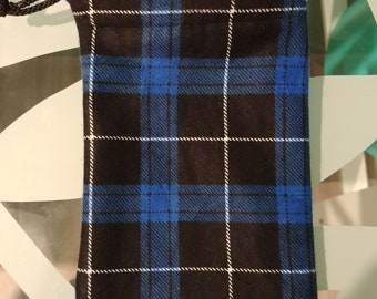"Flannel Pipe Bag - 7"" x 4"""