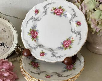"June sale Royal Albert 'Tranquility' 6.25"" Side Plate, 5 Available"