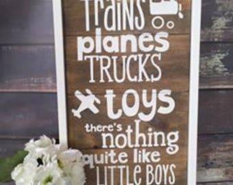Little Boys Sign