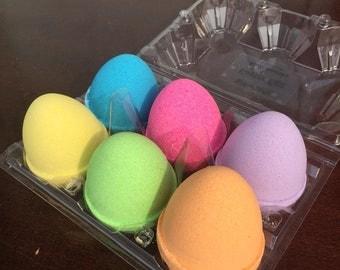 Single Easter Egg Bath Bombs