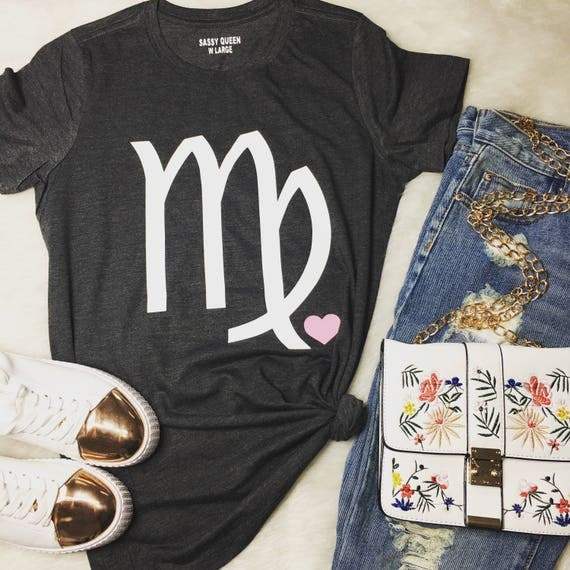 Virgo / August -September/ Zodiac/ Birthday Girl / Statement Tee / Graphic Tee / Statement Tshirt / Graphic Tshirt