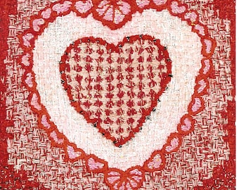 Valentine in hearts
