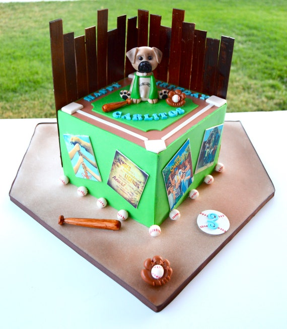 Sandlot Theme Cake Sandlot theme cake decorations baseball