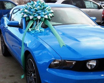 BIG 20 inch Car Bows Giant Gift Bows Large Pull BOWS to