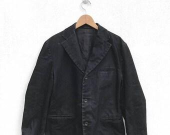 20% OFF Issey Miyake Vintage Coat Jacket IM Product Blazer Black Coat Pleats Please Yohji Comme des Garcons