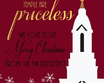 2x3 LDS Temple Tag