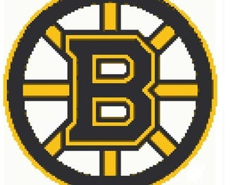 Boston Bruins Digital Crochet Pattern