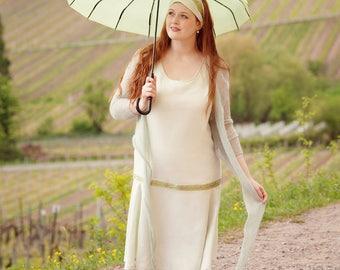 Flapper dress lightgreen Gr.L summer sale 30%