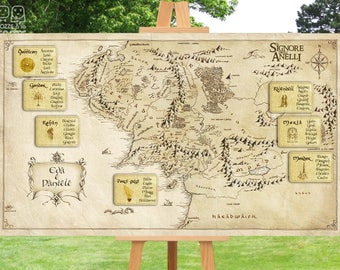 Lord of the rings style wedding Tableau-Lord of the ring tableau marriage