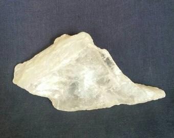 Crystalsl / Selenite Slab / Gemstone / Selenite / Raw Crystal Quartz / Meditation Stone / Home Decor / Healing Crystal / Quartz Crystal SALE