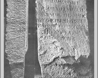 Poster, Many Sizes Available; Kensington Runestone