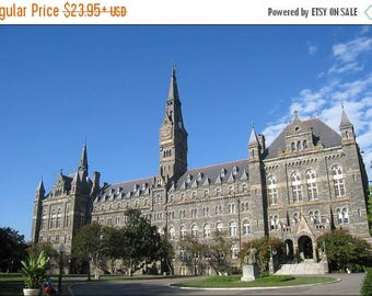 20% Off Sale - Poster, Many Sizes Available; Georgetown University 24