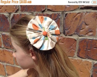 EOFY Sale Fabric Flower Hairclip