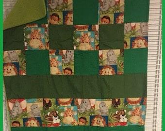 Jungle fun quilt * price lowered