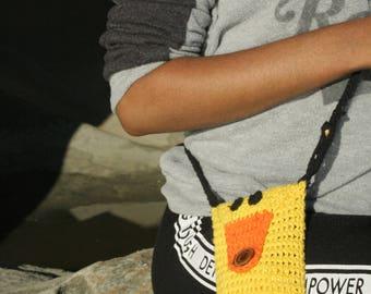 Crochet Critter's Duck Cell Phone purse