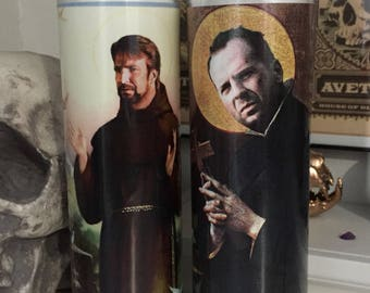 St Die Hard Hans John McClane Prayer Candle