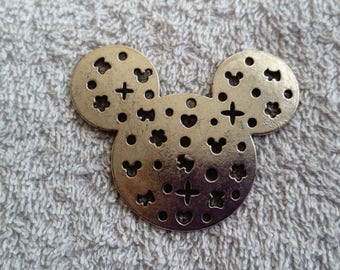 Mickey head charm