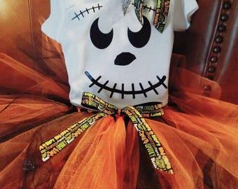 Halloween tutu outfit
