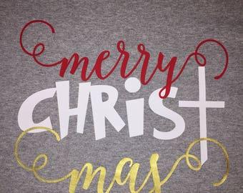 Merry CHRIST Mas Tshirt