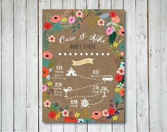Custom Wedding Program