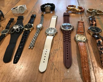 Lot of 14 Vintage to Now Watches