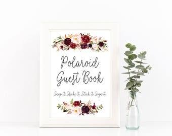 Photo guest book, photo guestbook, photo guestbook sign, photo guest book sign, Wedding photo guestbook, instax guest book, instax guestbook