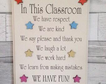 Classroom Wall Decor Etsy