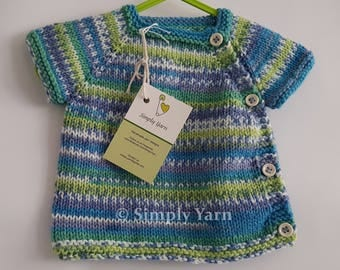New Born Wrap Cardigan