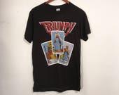 Vintage 80's Triumph Tour Shirt Deadstock The Sport of Kings Medium