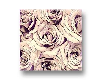 Roses, Art Print, Printable Art, Digital Art, Instant Download, Wall Decor