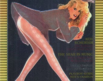 MATURE - Playboy Trading Card Chromium Cover Cards II - #170 April 1984