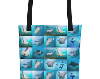 Mantas of Yap Tote bag