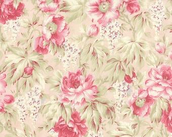 Pink Peach Floral 3 Sisters Favorites Moda 3768-12