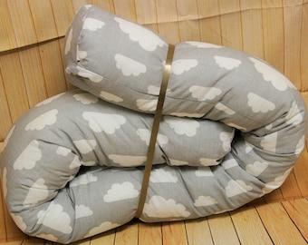 BaByNeStcHen, Bettrolle, nest, bed snake approx. 140 cm