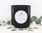 EUCALYPTUS MINT Soy Candle / Aromatherapy Candle / Gift Idea / Home Decor / Minimalist Decor / Handmade / Valentines Day / Gift for Her