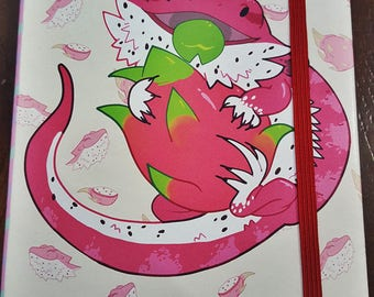 Bearded Dragonfruit Notebook