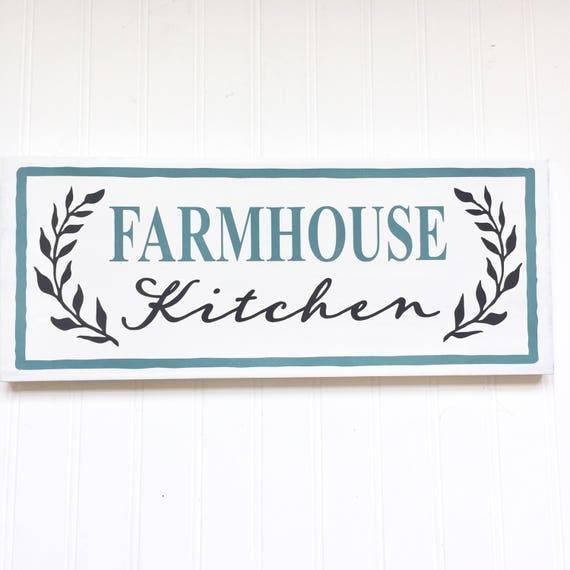Personalised Kitchen Signs: Kitchen Decor Farmhouse Kitchen Sign Custom Kitchen Sign