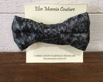 Bow tie, snake, Polyester Satin